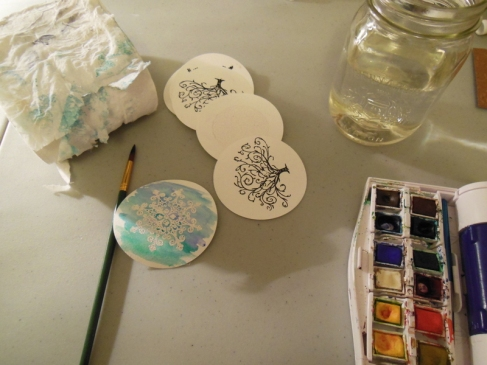 Paint with Watercolour
