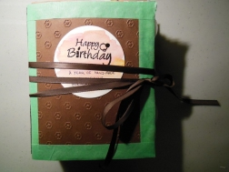 Et Voila! A Year of Handmade Watercolour Birthday Cards!