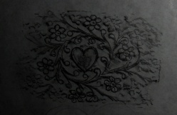 I kept most the design but changed the flower in the middle to a heart