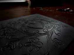 Carving out every curve was very tedious work....