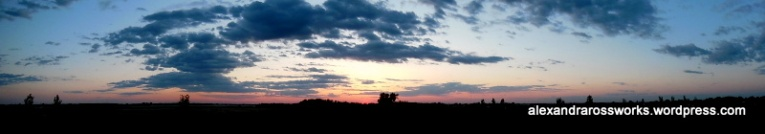 Sunset Manitoba