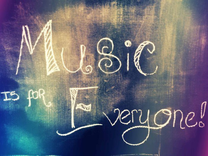 music is for everyone edit