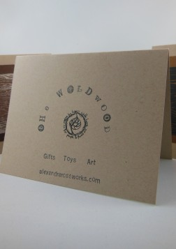 Print Cards Woodgrain 5
